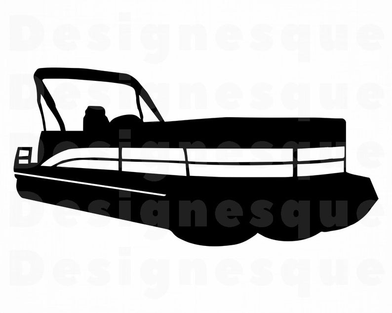 794x635 pontoon boat pontoon boat clipart pontoon boat for etsy