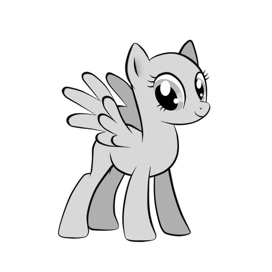 894x894 Pegasus Drawing Basic For Free Download
