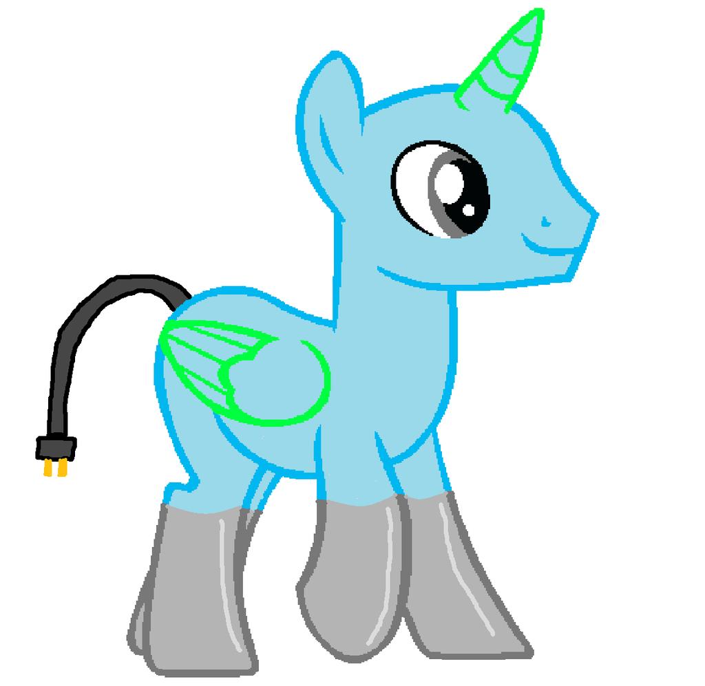 1024x997 My Little Pony Unicorn Base Jerusalem House