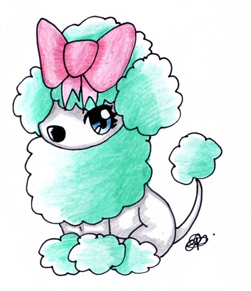 Poodle Drawing Free Download Best Poodle Drawing On