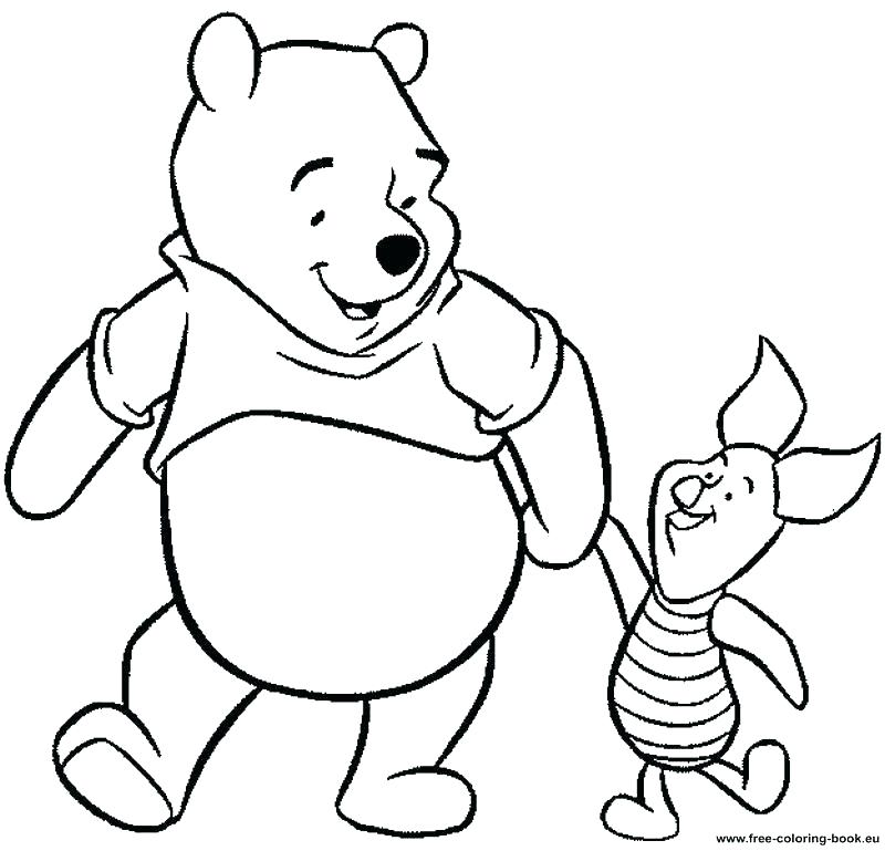 800x769 Halloween Pooh Bear Coloring Pages Halloween Arts