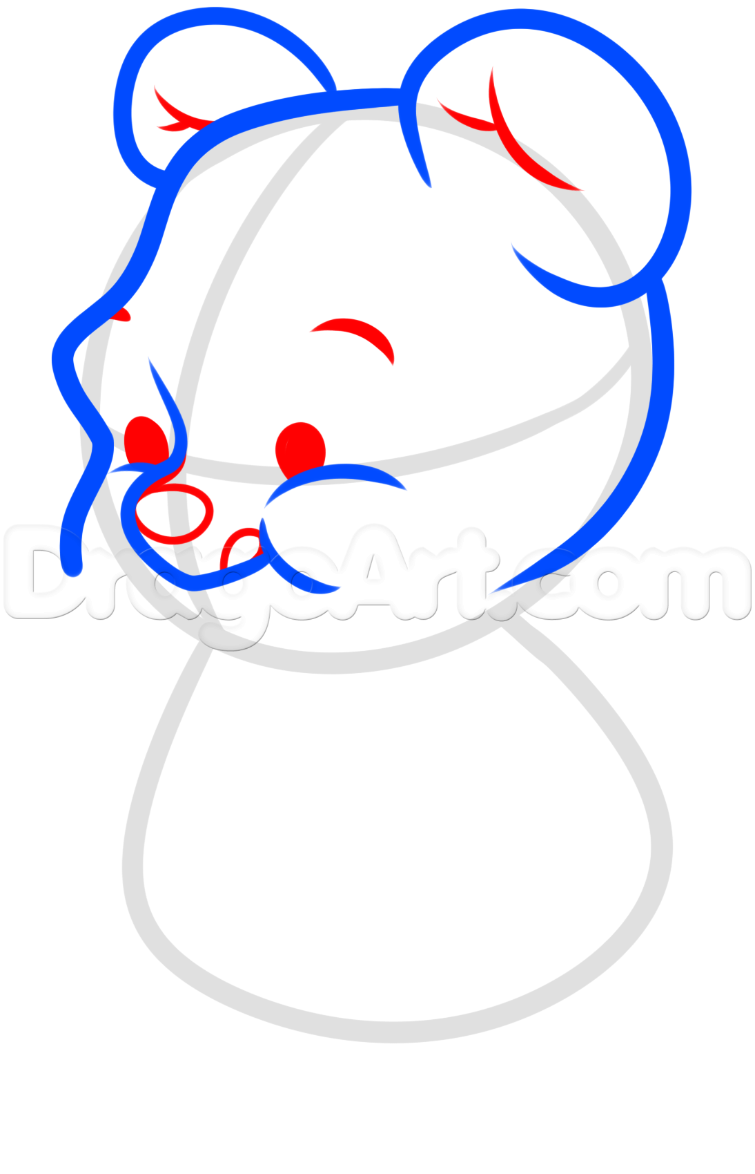 1094x1699 How To Draw Chibi Winnie The Pooh, Pooh Bear, Step