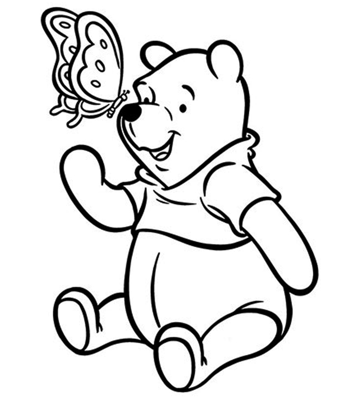 1200x1350 Top Free Printable Pooh Bear Coloring Pages Online
