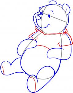 237x302 How To Draw How To Draw Pooh Bear