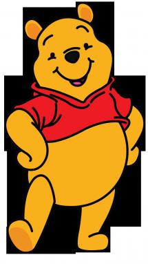 215x382 Pooh Drawing Free Download On Unixtitan