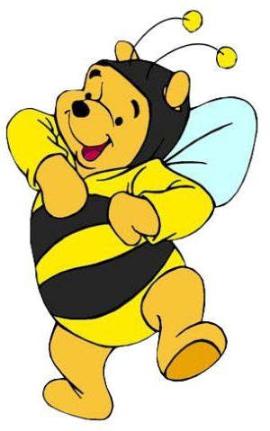 300x479 Printable Winnie The Pooh Clipart Drawing Pictures Bumblebee