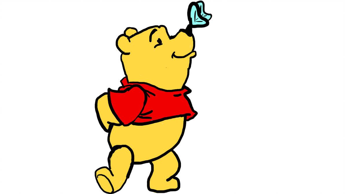 1192x670 Winnie The Pooh Drawing