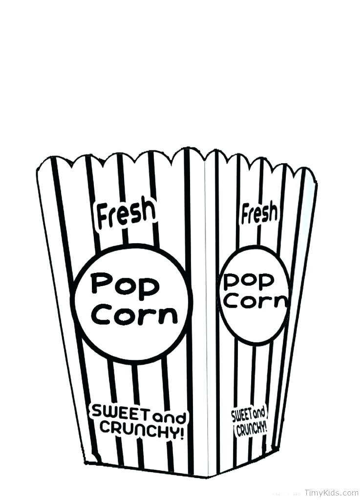 745x1024 popcorn coloring pages print popcorn printable popcorn printable
