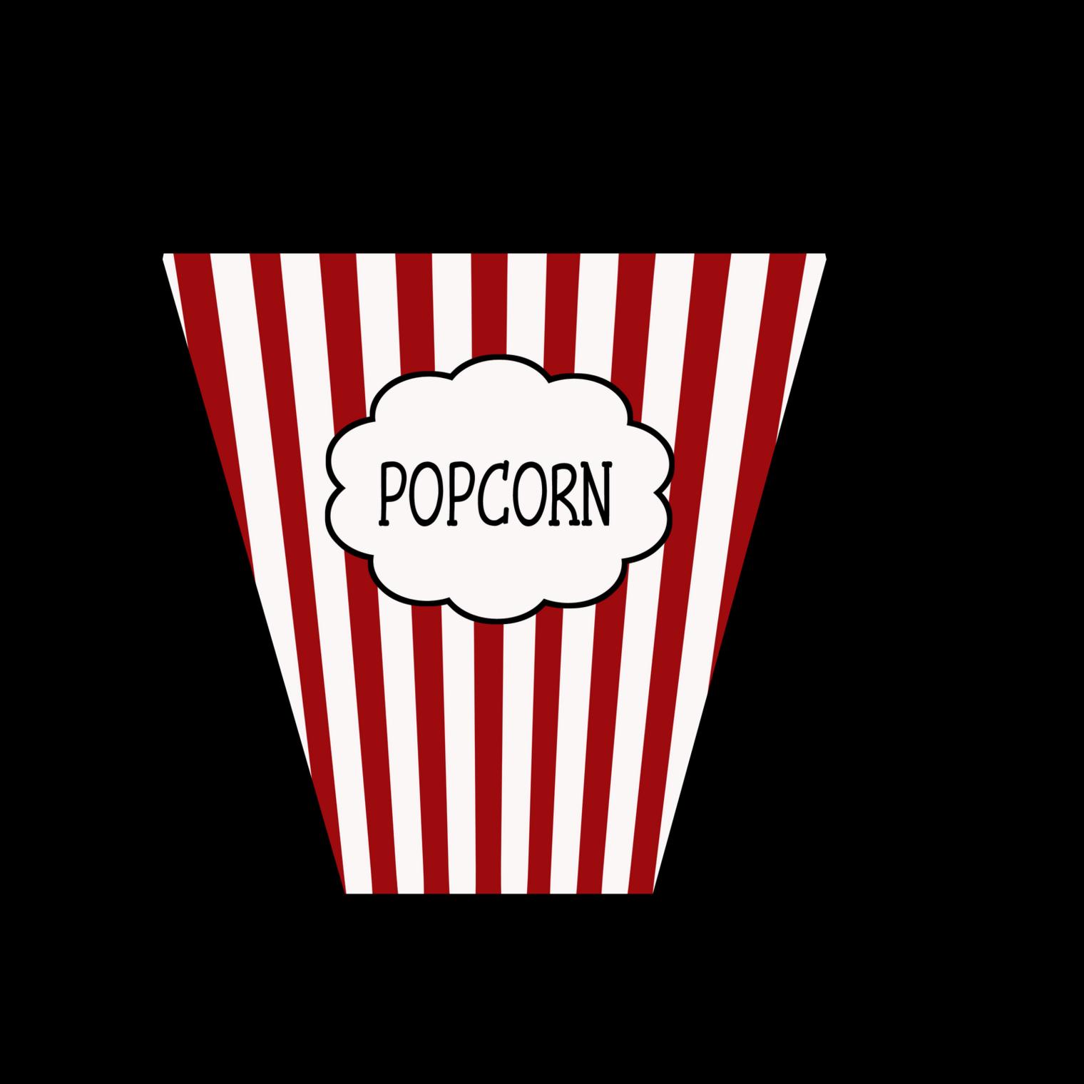Popcorn empty. Box drawing free download