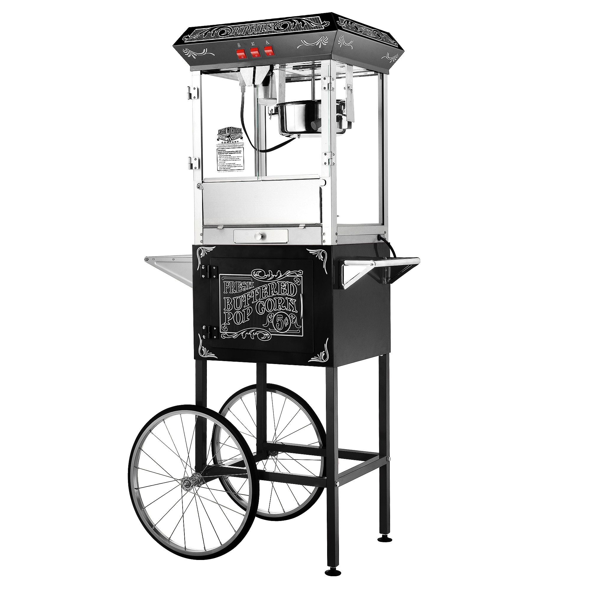 Popcorn Machine Drawing