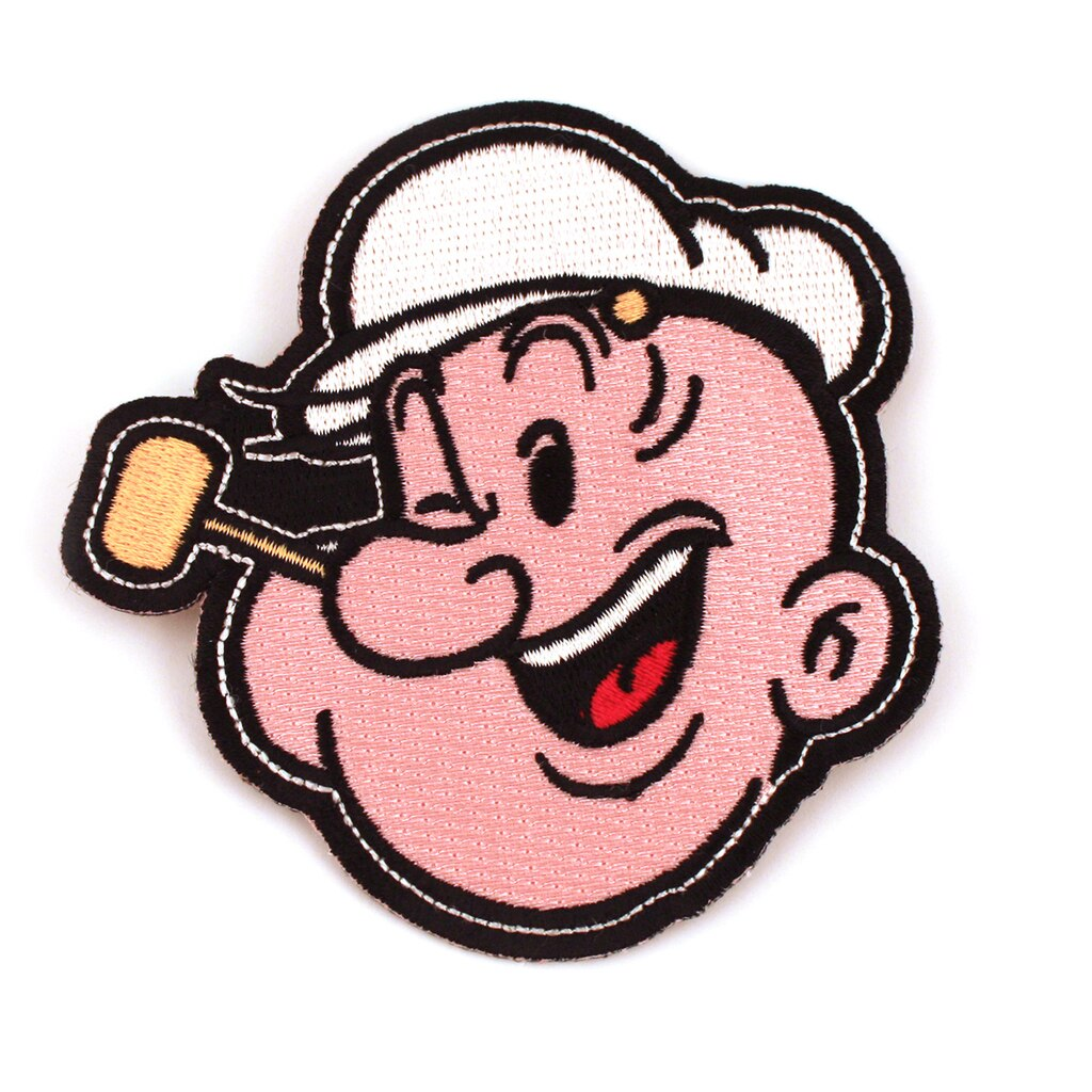 1024x1024 popeye patch popeye the sailor man iron on patch iron on patch