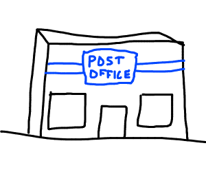 Post Office Drawing Free Download Best Post Office Drawing On