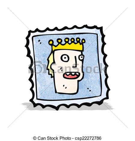 449x470 Cartoon Postage Stamp Vector