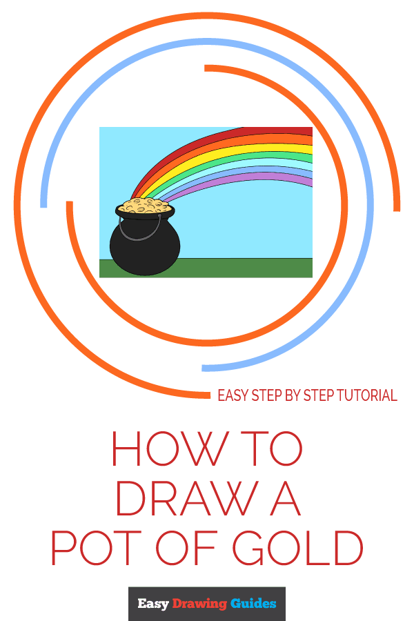 600x900 How To Draw A Pot Of Gold