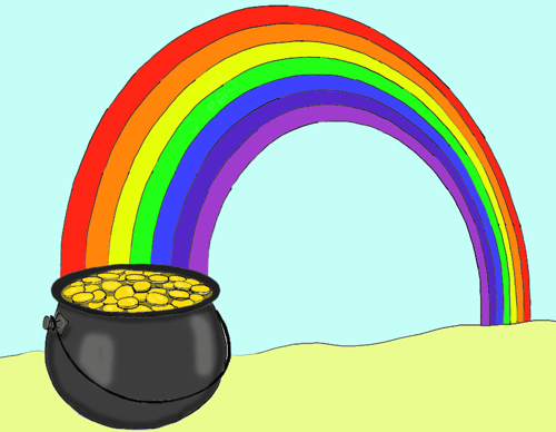500x388 How To Draw A Pot Of Gold