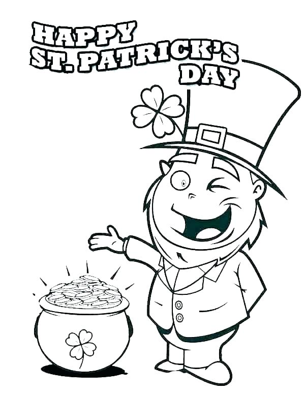600x775 pot of gold coloring pages printable pot of gold to color pot