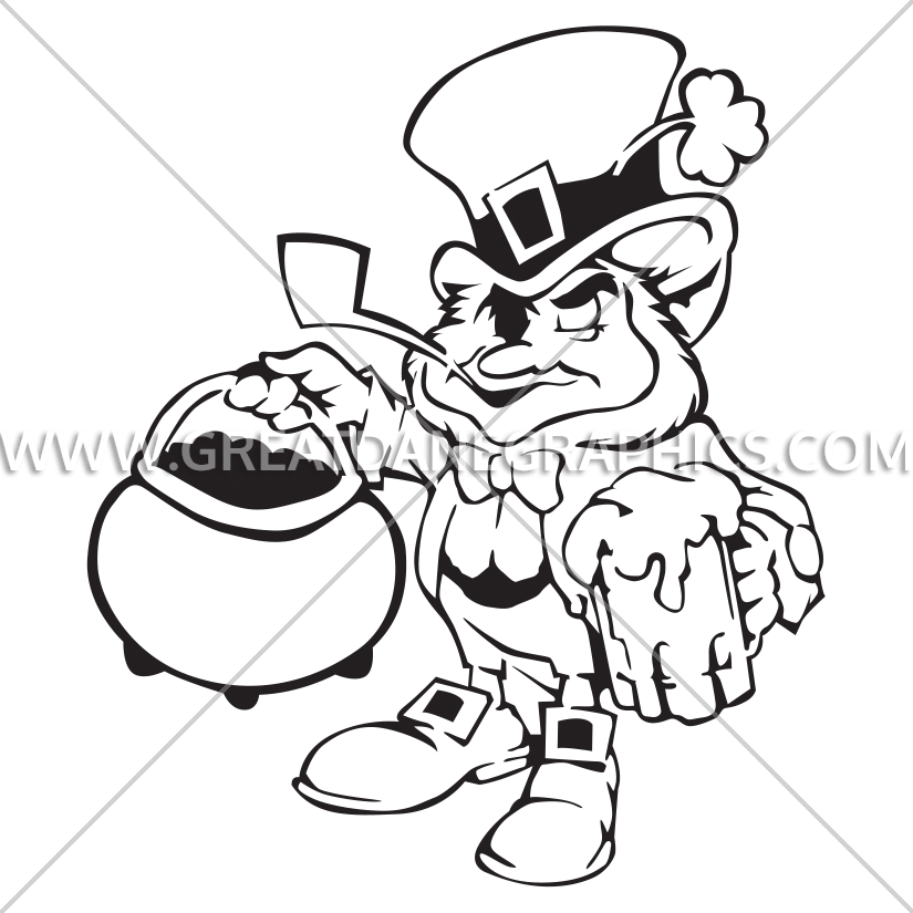 825x825 Collection Of Free Gold Drawing Leprechaun Download On Ui Ex