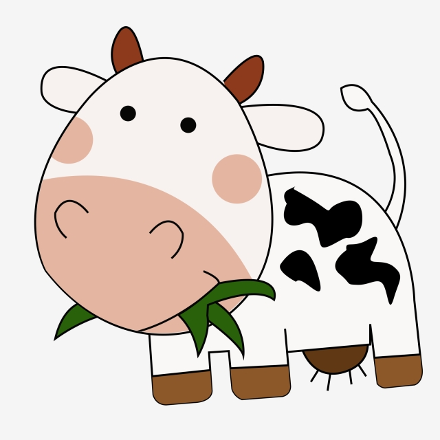 640x640 Childrens Drawing Cow Cow Animal Livestock, Poultry, Sooner