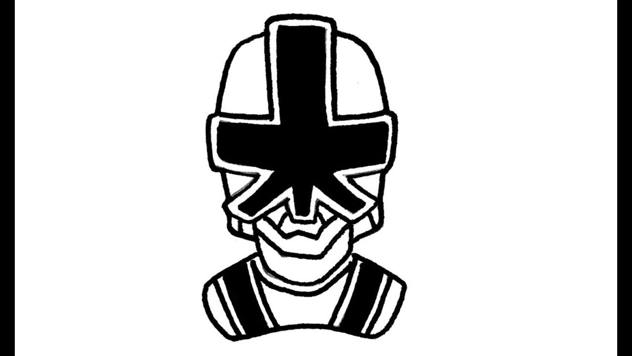 1280x720 How To Draw Green Power Ranger Samurai