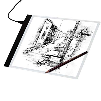 425x425 Led Tracing Light Box Ultra Thin Portable Led Light