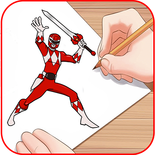 512x512 How To Draw Power Rangers Download Apk For Android