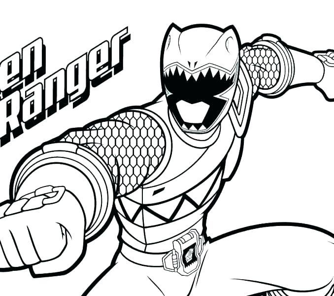 678x600 Power Ranger Dino Charge Printable Coloring Pages Coloring Pages