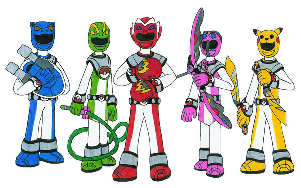 600x376 Tutorial How To Draw Dino Charge Megazord Easy Step