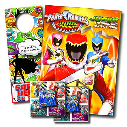 425x425 Power Rangers Dino Charge Coloring Book And Stickers