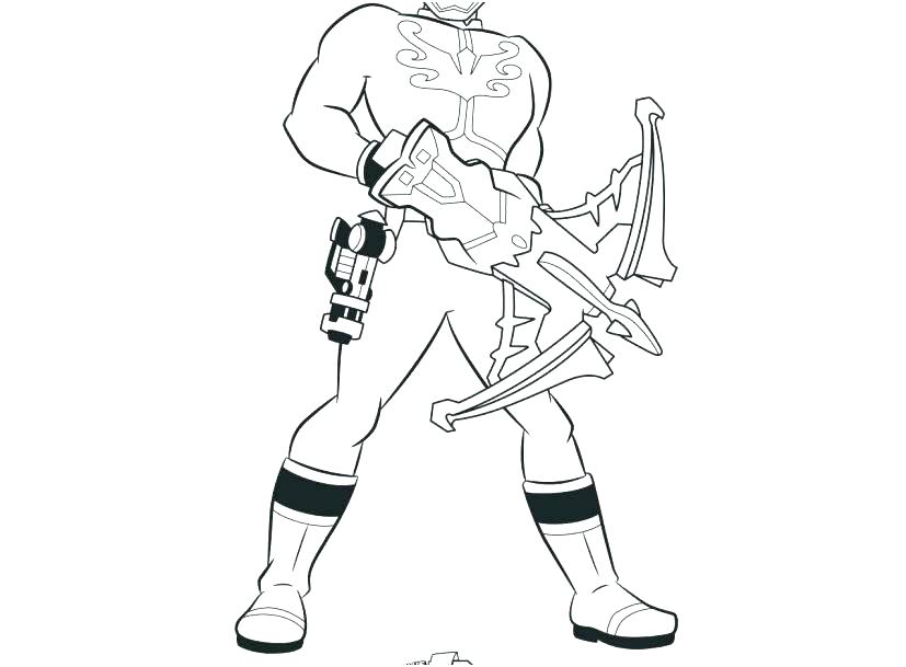 827x609 Power Rangers Coloring Pages Printable All Ranger Drawing