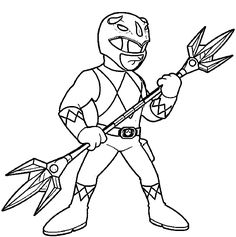 236x237 best power rangers coloring pages images power rangers