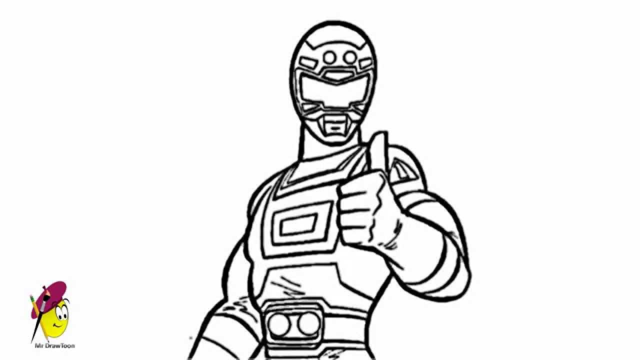 1280x720 The Pink Ranger How To Draw Power Rangers Mega Force