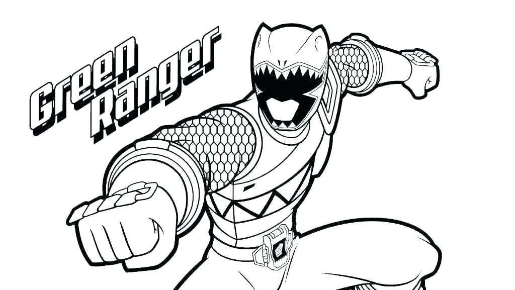 1024x577 Power Rangers Coloring Book