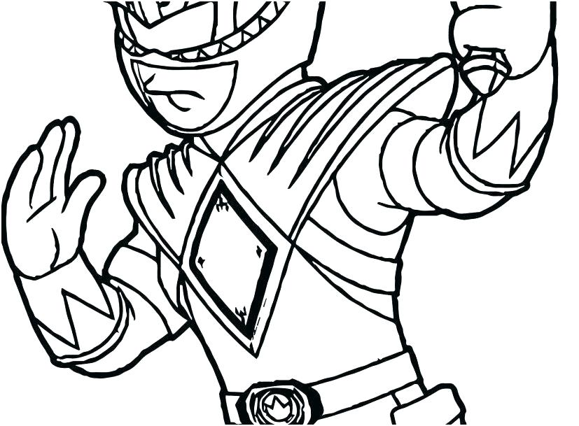 827x609 Power Rangers Coloring Pages