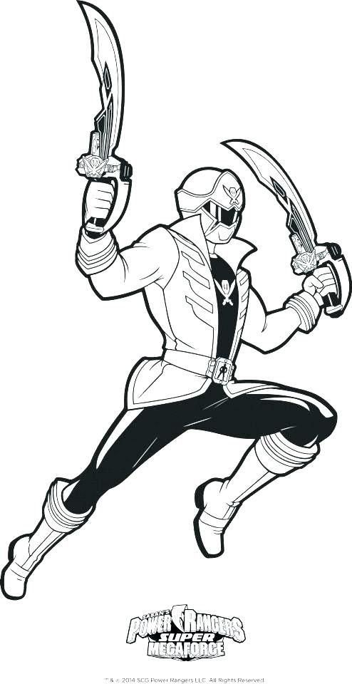 494x960 Power Ranger Megaforce Coloring Pages Phenomenal Power Rangers