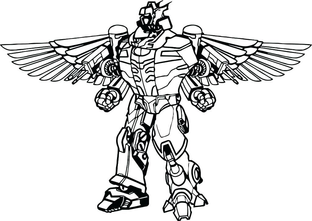 1024x727 Power Rangers Megazord Coloring Pages Super Ranger Jungle Fury