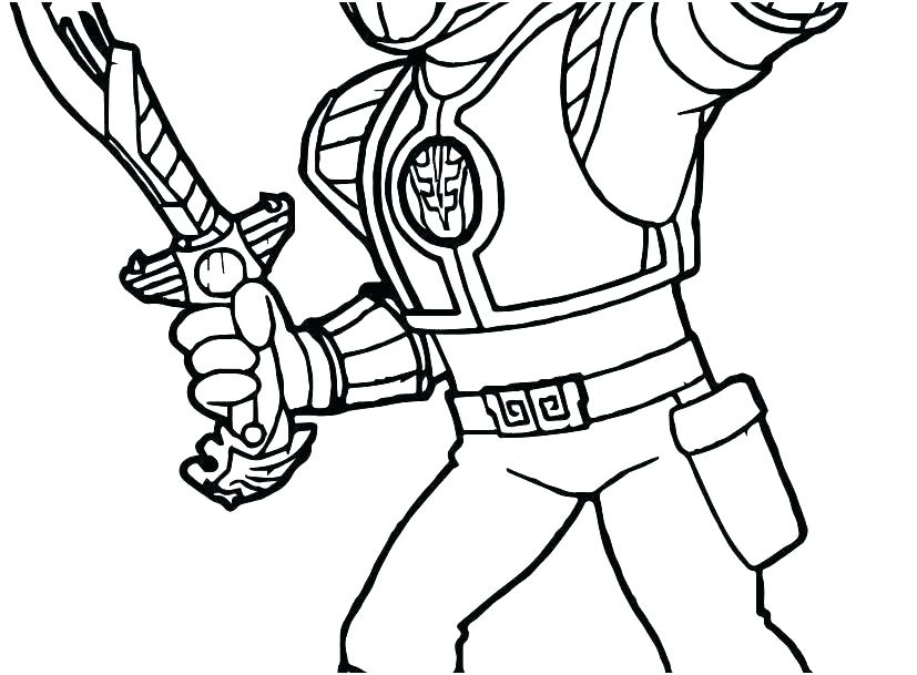 827x609 Power Rangers Coloring Pages Printable