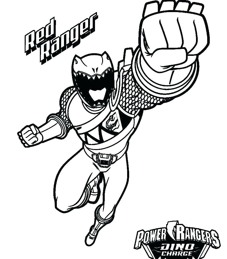 791x900 Power Rangers Printables