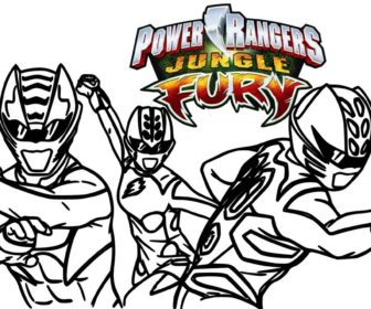 336x280 How To Draw Power Rangers Jungle Fury Coloring Pages For Kids
