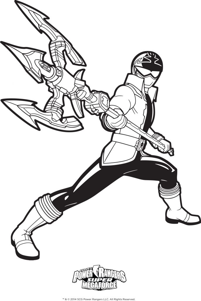 686x1024 Jungle Fury Coloring Pages Inspirationa Impressive Power Rangers