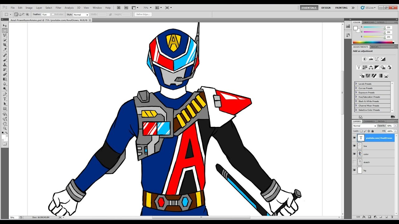 1280x720 How To Draw Sentai