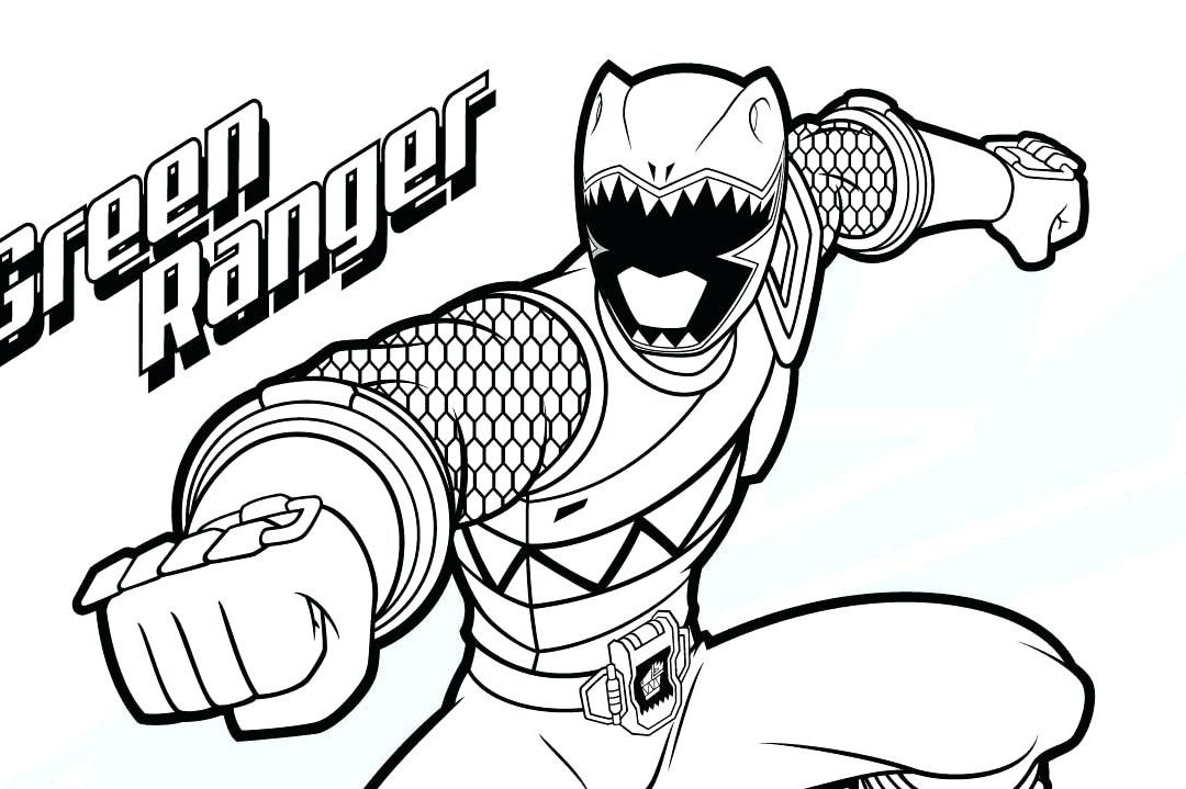 1080x719 Power Rangers Colouring Rare Pages Free Coloring Samurai Megaforce