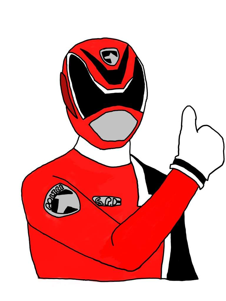 768x1024 Spd! Emergency! Spd Red! Power Rangers World Amino