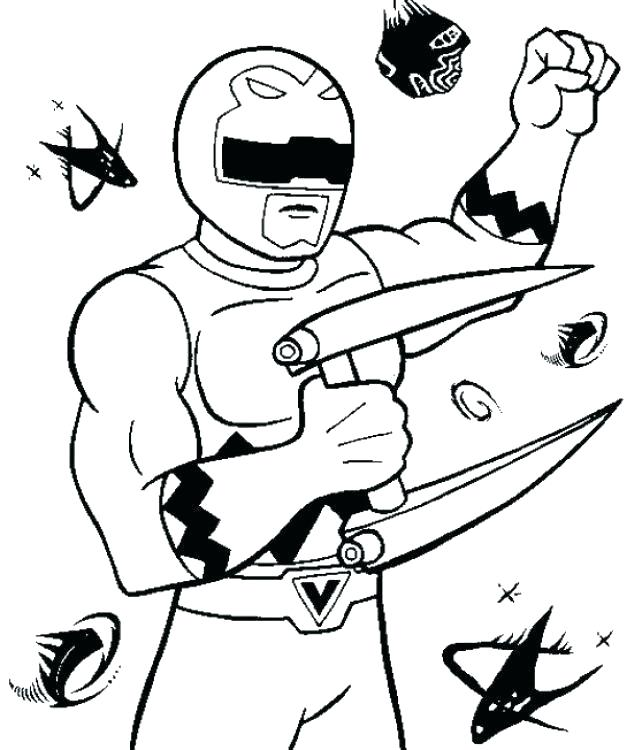 642x750 Power Rangers Rpm Coloring Pages