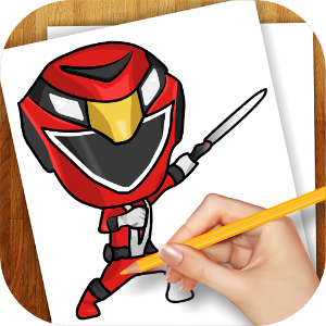 300x300 How To Draw Power Rangers