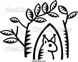 300x238 Prairie Dog Vector Clip Art