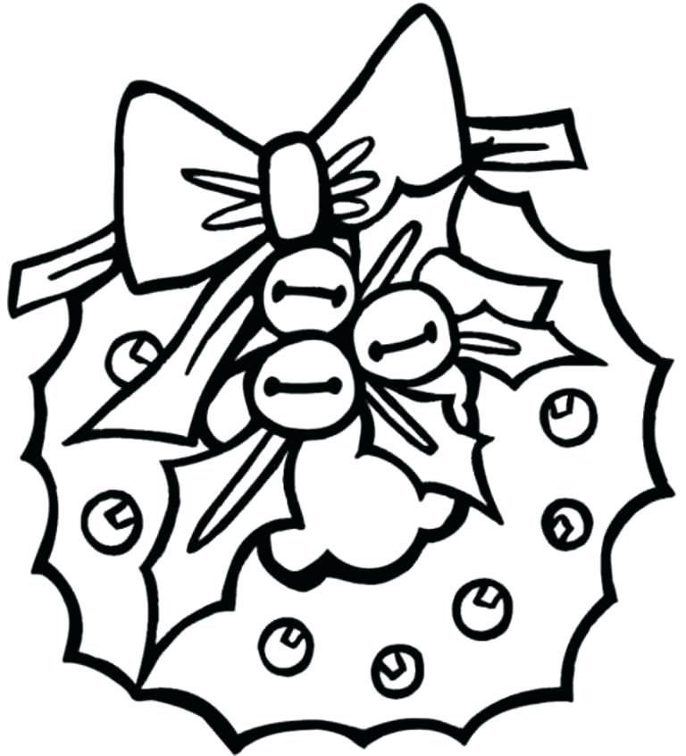 768x846 Christmas Coloring Pages Prek With Preschool