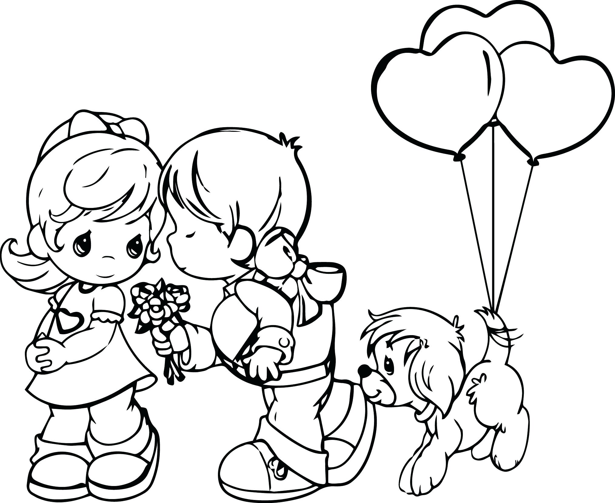Precious Moments Angel Drawing