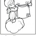 150x150 Precious Moments Coloring Pictures Christmas Pages Fresh Drawings