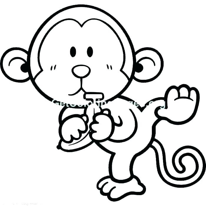 700x700 Precious Moments Monkey Coloring Pages