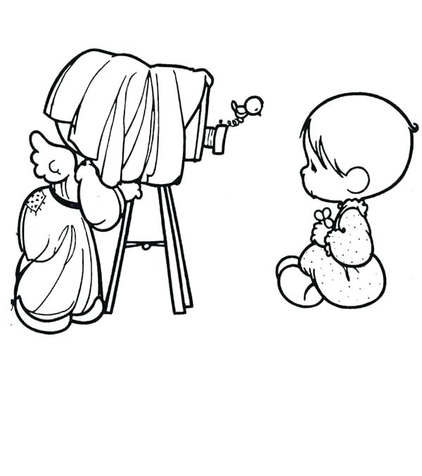 600x677 Precious Moments Dog Coloring Pages